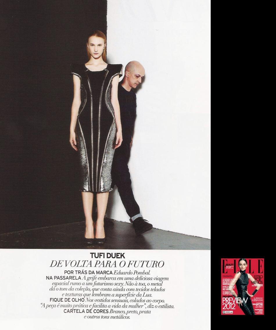 PREVIEW INVERNO 2012 - revista Elle Brasil janeiro 2012