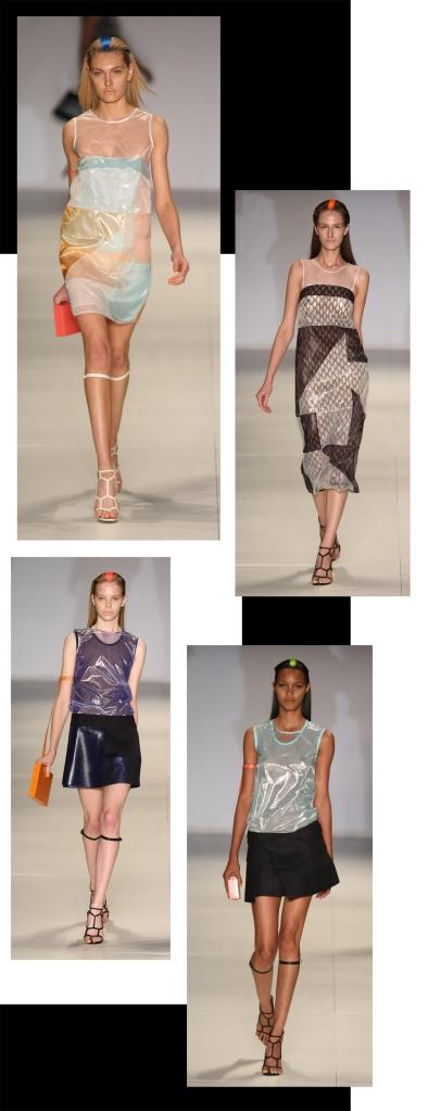 Desfile Tufi Duek Verão 2011. Modelagens: Christian Monteiro